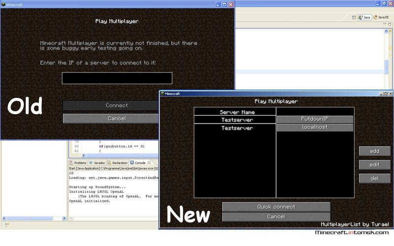 [1.6.5] MultiplayerList [Gui]
