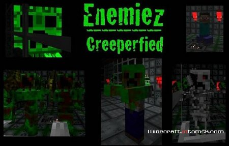 [16x][1.5] Boomer's Creeper Themed Texture Pack