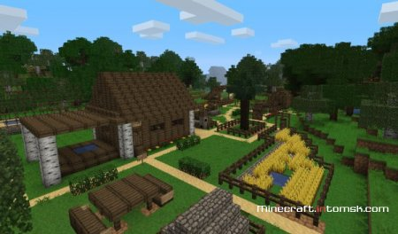 [1.6.5][64x] Ovo's Rustic Pack v0.9.2 (fixed trapdoor)