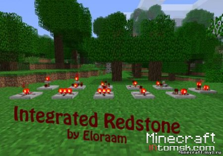 [1.6.6 - 1.7.3] Eloraam's Mods (Integrated Redstone V1.3, Redstone Pipe)