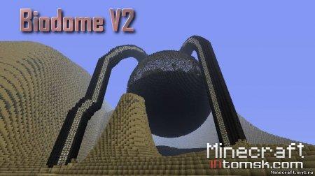 Bio-dome V2 (Adventure map + World Save)