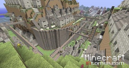 Minecraft Ghibli Word