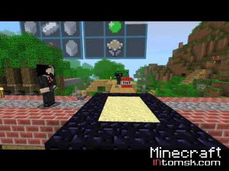 """Закулисье ролика """"Minecraft 1.7 Piston Trailer"""""""
