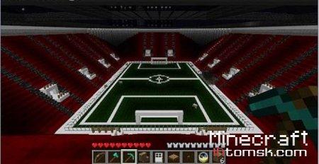Minecraft Football Stadium