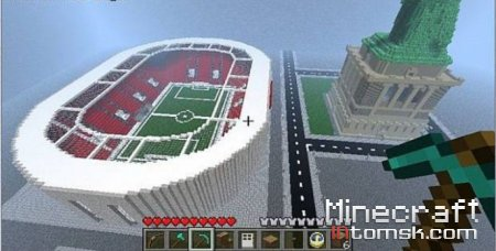 Minecraft Football Stadium
