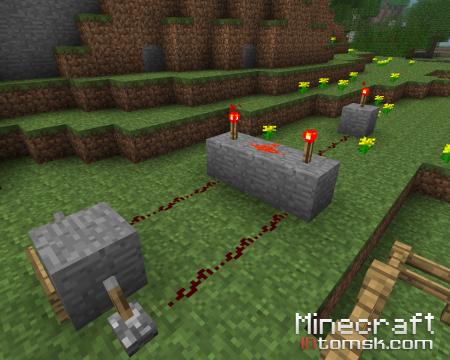 Моя железная дорога в minecraft