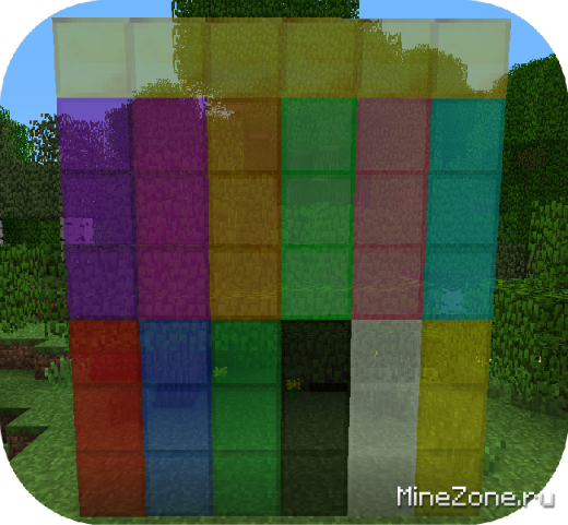 Stained Glass, Fancy blocks, & Glowstone Torches