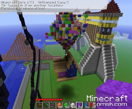 """Галлерея построек на сервере """"Green World"""" """"Для конкурса RPG"""""""