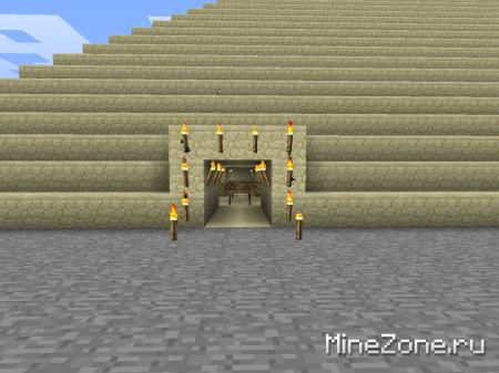 Пирамида с испытаниями