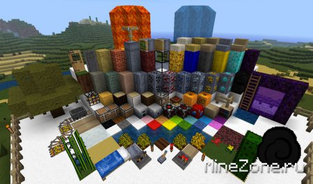 Client Minecraft by Ensemplix + 9 Texture Pack's + Mods = Very Nice