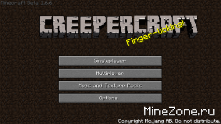 [1.7.3] [16x] CreeperCraft v2.7