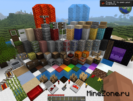 Client Minecraft by KavAndr = 6 Nice Texture Pack + Very More Mod's = Very Cool