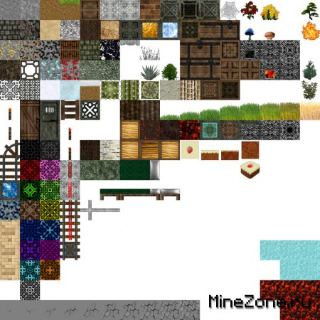 [1.7.3][64x] Albion  Texture pack