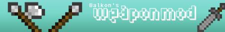 [1.8.1] Balkon's WeaponMod v7.0