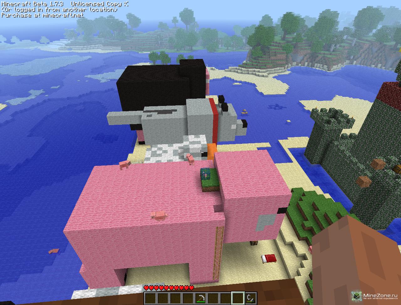 Прозрачные текстуры для Minecraft скачать