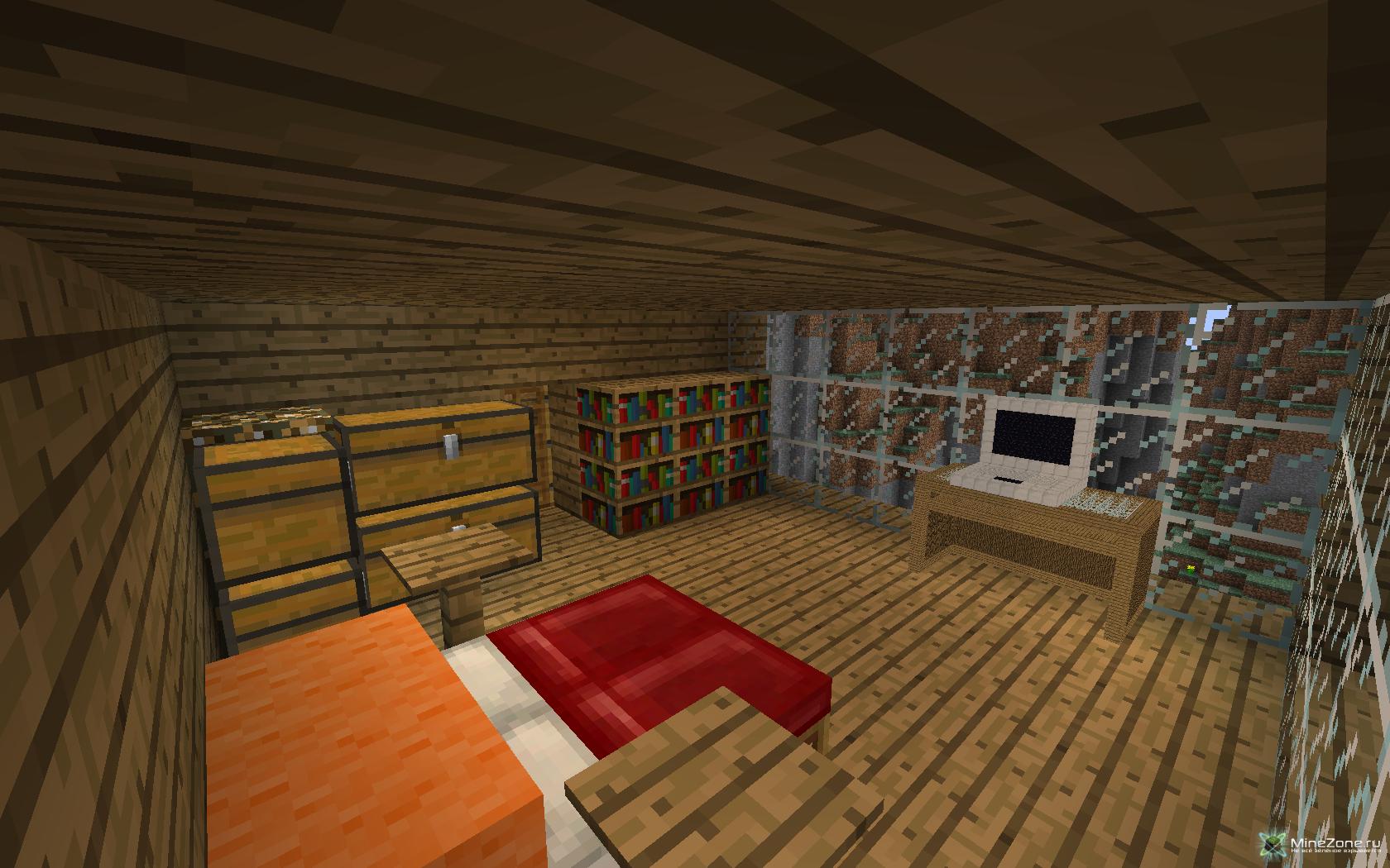 Потайная Комната в Майнкрафт