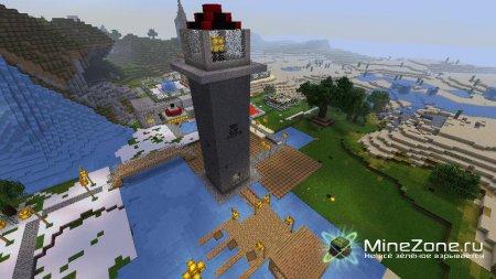 Портовый мини городок.