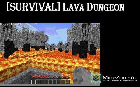 [SURVIVAL] Lava Dungeon Survival. It's Hot.