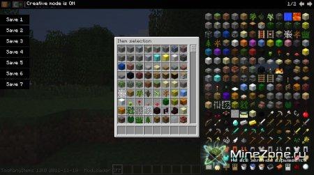 TooManyItems для Minecraft 1.0