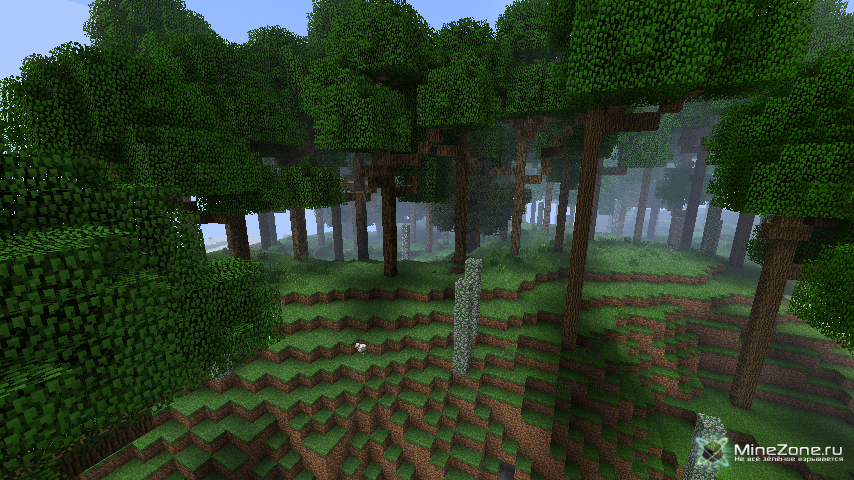 большие деревья мод 1.8.0 майнкрафт #10