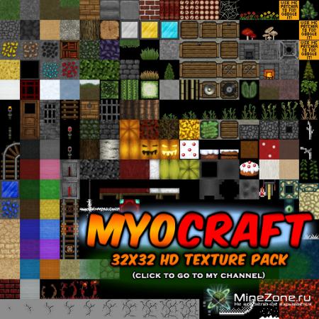 [32x][1.0] MyoCraft v3.2