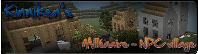 [1.0.0]Millénaire - Деревня с жителями v2.0.9