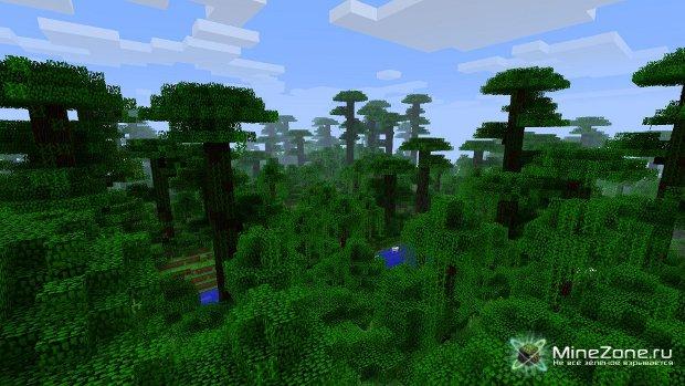 Minecraft-Разнообразие в биомах