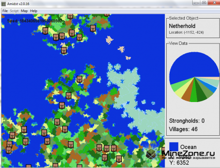 [v2.0.16] AMIDST - Strongholds, Village, Biome, Ect. Finder v2.0.16