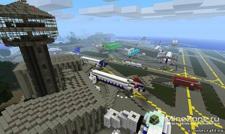 [1.0.0] AirPort в Minecraft