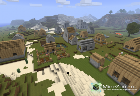 [1.2.4] Millénaire - Деревня с жителями v2.3.7