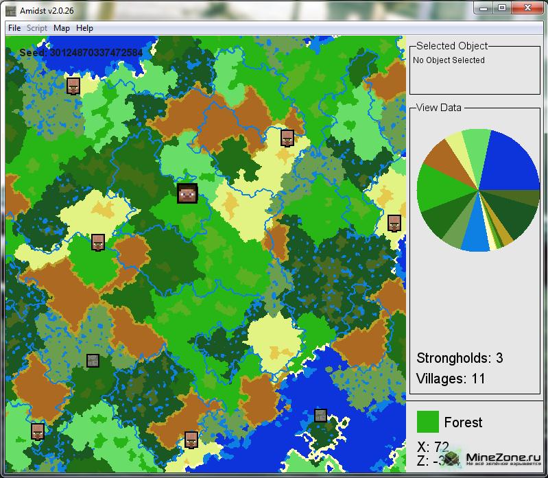 Minecraft biome finder