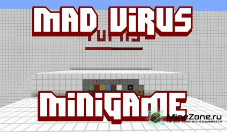 MAD VIRUS - Fully Featured Game in Minecraft