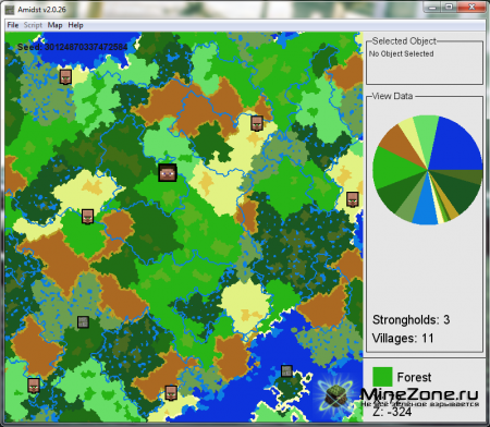 [v2.0.26] AMIDST - Strongholds, Village, Biome, Ect. Finder