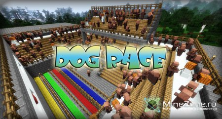 [minecraft-pg5] Dog Race with Wolves