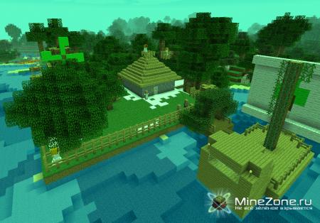 Карта-Деревня Шумные деревья v 1.2
