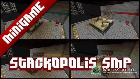 [codecrafted] Stackopolis SMP - Up to 4 players