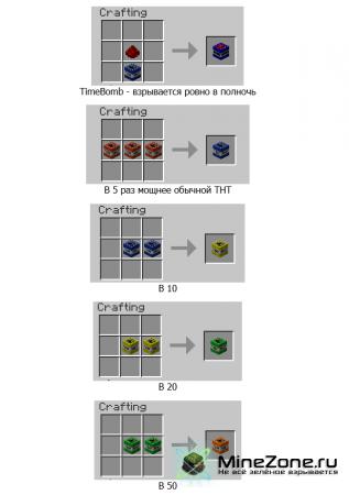 [1.2.5] TooMuchTNT - много новых видов TNT