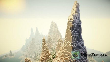 Skylia Island - Skyrim inspired custom terrain