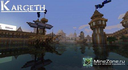 KARGETH (medieval city / world project) 4500х4000 blocks