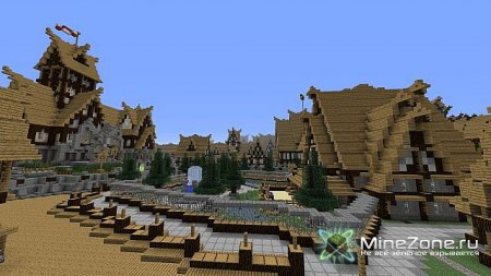 KARGETH (medieval city / world project) 4500х4000 blocks