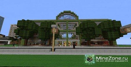 Minecraft: Vine Wood City