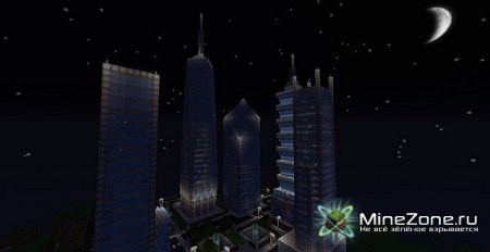 Minecraft: Vine Wood City