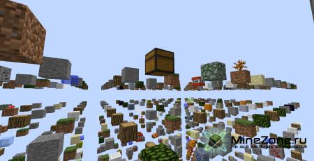 Скачать карту SkyGrid для Minecraft бесплатно - Карты для ...