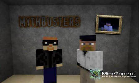 [Ep.1-4] Mythbusters in Minecraft (RUS SUB)