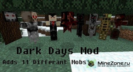 [1.2.5] Minecraft Dark Days Mod