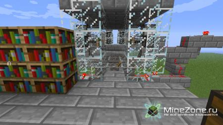 Тир в Minecraft