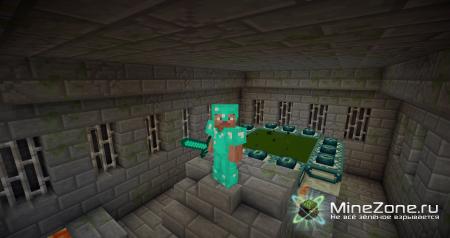 Рутинная жизнь в Minecraft