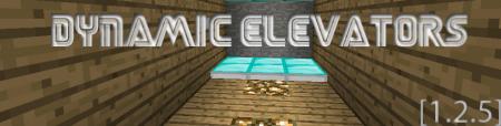 [1.2.5] Dynamic Elevators Mod