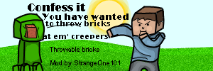 [1.3.2] Throwable Bricks Mod - Now with breakable windows!