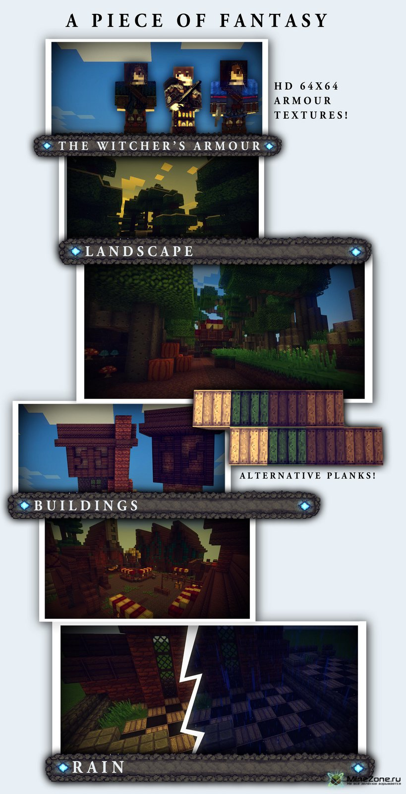 [1.2.5] [32x] A Piece of Fantasy, RPG texture pack